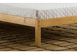 4ft Santiago Pine Bed Frame Save On Goods